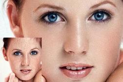 利用通道计算快速消除美女脸部斑点