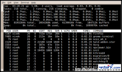 linux中显示所有进程的命令