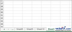 多个Excel工作表中怎么快速跳转到指定表?