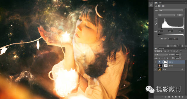 梦幻效果,通过ps打造梦幻的《来自星星的你》的梦幻色调