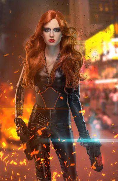 海报制作,合成超炫的超级英雄电影海报