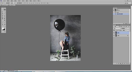 素描效果,在ps中制作真实又漂亮的彩铅素描照片