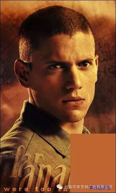 明星换脸,把《越狱》中斯科菲尔德的照片换成王力宏的脸