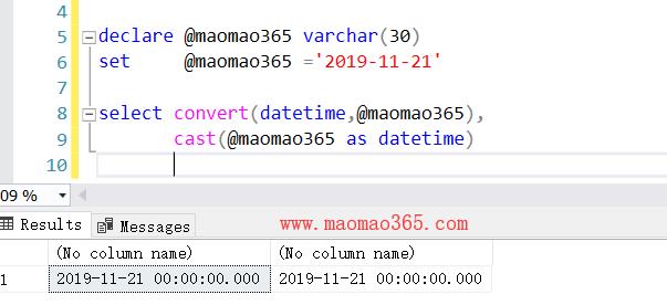 mssql_sqlserver_字符串转换为时间类型方法分享