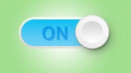 图标制作,在PS中制作开关按钮